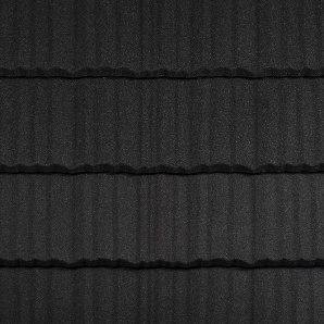 Композитна черепиця Metrotile Shake 1325x415 мм Coal Black