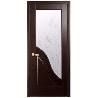 Двери межкомнатные Новый Стиль МАЭСТРА Р Амата Р2 600х2000 мм венге