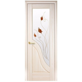 Двери межкомнатные Новый Стиль МАЭСТРА Р Амата 600х2000 мм ясень