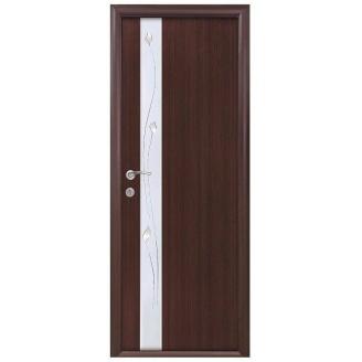 Двери межкомнатные Новый Стиль КВАДРА Р Злата 600х2000 мм венге
