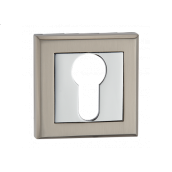 Накладка дверная под цилиндр E8aSN/CP