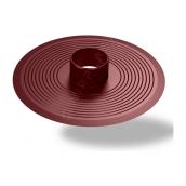 Основание для колпака Wirplast Flat Base U31 75 мм коричневый RAL 8017
