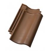 Керамическая черепица Jacobi Hohifalzziegel Z5 Ангоб 276х450 мм коричневый