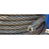Стальной канат ЛК-Р двойной свивки ГОСТ 2688-80 12 мм
