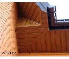Панель софит ASKO перфорированная 3,5 м светлая сосна