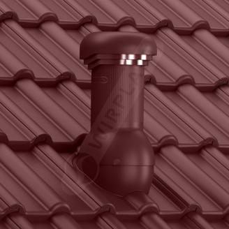 Вентиляційний вихід Wirplast Wirovent Tile W17 Pro 125x440 мм коричневий RAL 8017