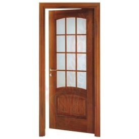 Двери из сосны DerevBud со стеклом 42х900х1900 мм