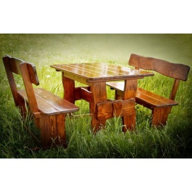 Комплект дерев'яних меблів для ресторанів
