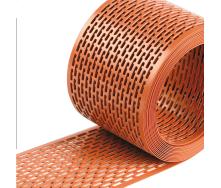 Вентиляционная лента свеса Wentop ПВХ 100х5000 мм кирпичная