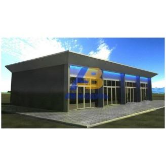 Строительство торгового павильона 35 м2