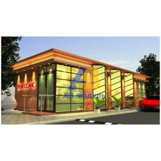 Строительство офиса продаж 57 м2