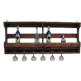 Полиця для пляшок винна 600x500x150 мм