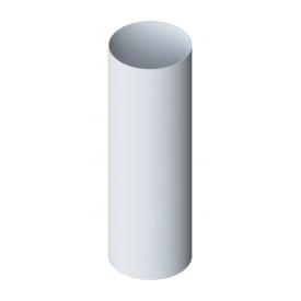 Труба водостічна Альта-Профіль Стандарт 74 мм 3 м білий