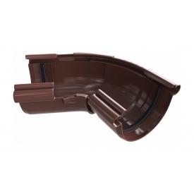Кут ринви регульований Альта-Профіль Еліт 120-145 градусів 125 мм коричневий