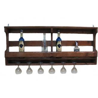 Полка для бутылок винная 800x500x150 мм