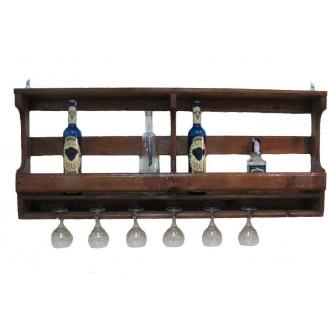 Полка для бутылок винная 600x500x150 мм