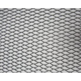 Сітка просічно-витяжна оцинкована 0,6 мм 25х60 см 1х10 м