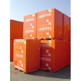 Пеноблок стеновой автоклавный Aeroc 10х20х60 см