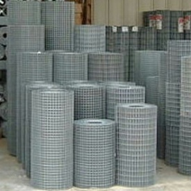 Сетка сварная оцинкованная рулонная 50х50-1,4мм 1,0х30,0мп