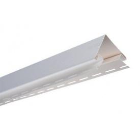 Кут зовнішній Альта-Профіль Alta-Siding 3050 мм білий
