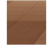 Террасная доска Werzalit Paseo Profile 140х30х4000 мм terracotta
