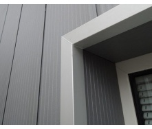 Фасадная доска Werzalit Structura 3100 мм 486 Black zinc