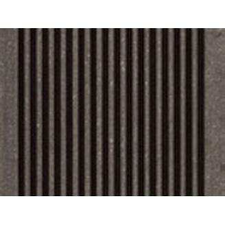 Террасная доска Werzalit TerraZa profile 145x38x6000 мм Карбоне 485