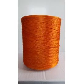 Нить для оверлока ковролина 5 кг оранжевая