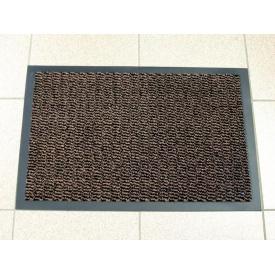 Брудозахисний придверний килим Leyla 60 600х900 мм коричневий