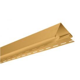 Внешний угол Альта-Профиль BlockHouse Т-12 3,05 м золотистый