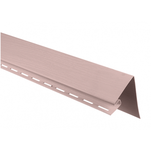 Білявіконна планка Альта-Профіль KANADA Плюс Престиж 3050 мм персиковий