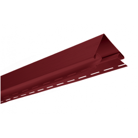 Угол наружный Альта-Профиль KANADA Плюс Премиум 3050 мм красный