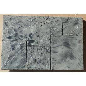 Комплект фасадной плитки Rocky Цокольная плита 10 мм серый