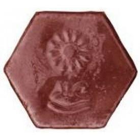Вставка Rocky до тротуарної плитки Японія і Єгипет 40х140 мм червоний мармур