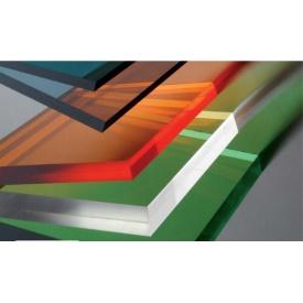 Поликарбонат монолитный 10мм 2,05*3,05м (Европа) цветной
