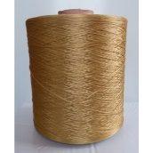 Нитка для оверлока коврового изделия золотистая