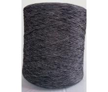 Нить для оверлока коврового покрытия меланж серый