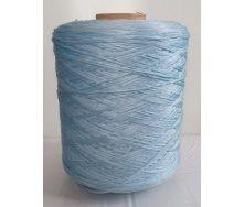 Нить для оверлока коврового изделия голубая