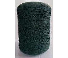 Нитка для оверлока килимового покриття темно-зелена