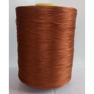 Нитка для оверлока ковроліну коричнева