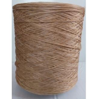 Нить для оверлока ковровой дорожки меланж темный беж