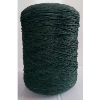 Нить для оверлока коврового покрытия темно-зеленая