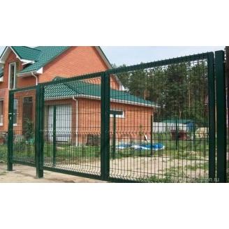 Ворота оцинкованые 1,5x3 м