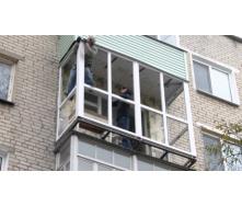 Монтаж балкона під ключ