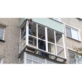 Монтаж балкона под ключ
