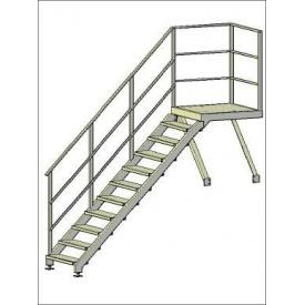 Пожежні сходи маршеві 1 пог. м