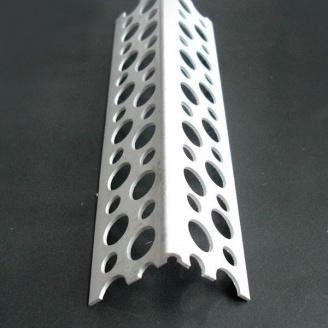 Угол перфорированный пластиковый 3000 мм