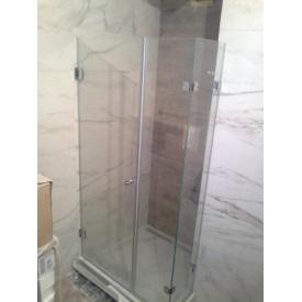 Скло для душової кабіни безрамної конструкції