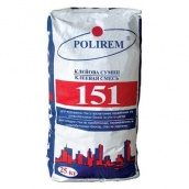 Клей для газоблоку Полірем 151 25 кг