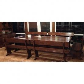 Комплект деревянной мебели в классическом стиле 3200х1200 мм